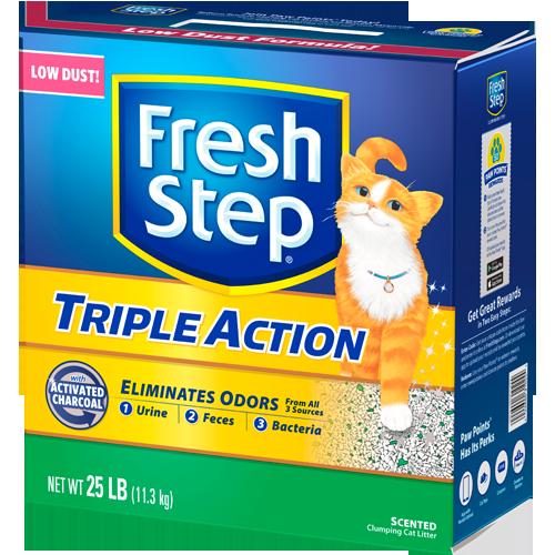 Fresh Step – Triple Action 25 LBs